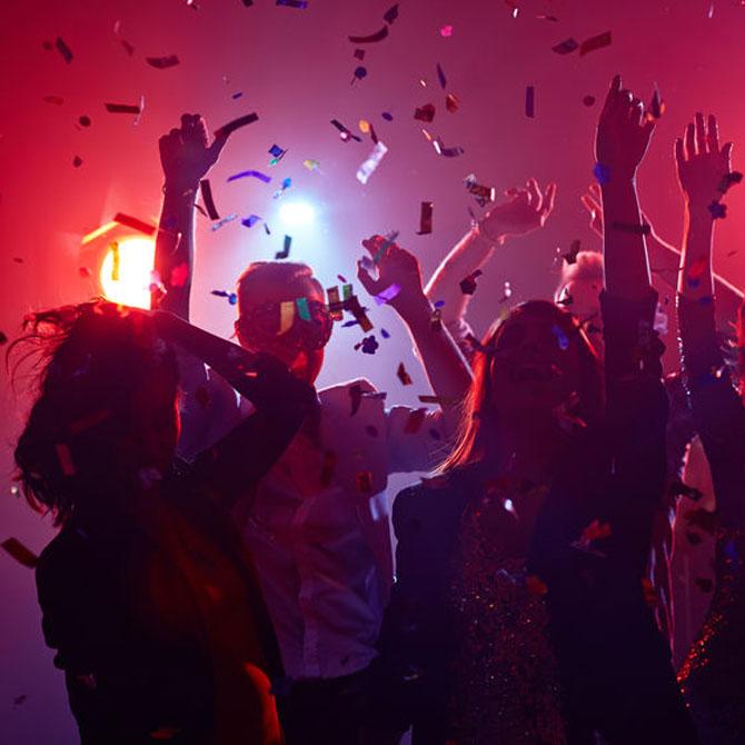 Räume zum feiern mieten.